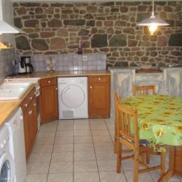 Location, Paimpol, Le Bleiz, la grande cuisine aménagée - Location de vacances - Paimpol
