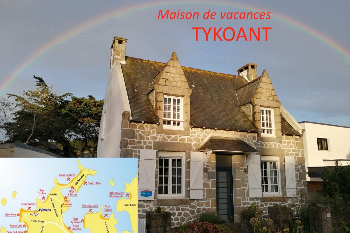 Maison en Granit, à proximité de la plage - Location de vacances - Trégastel