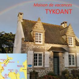 maison située à 150m de la plage, et à proximité des commerces - Location de vacances - Trégastel