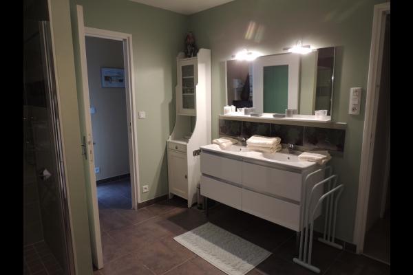 BELLEC - Chambre d'hôtes - Chez la Voisine -  Paimpol - Salle d'eau - Chambre d'hôtes - Paimpol