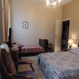 BELLEC - Chambre d'hôtes - Chez la Voisine -  Paimpol - Chambre 01 - Chambre d'hôte - Paimpol