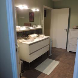 BELLEC - Chambre d'hôtes - Chez la Voisine -  Paimpol - Salle d'eau 02 - Chambre d'hôtes - Paimpol