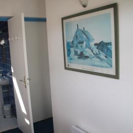 la salle d'eau à l'étage - Location de vacances - Erquy