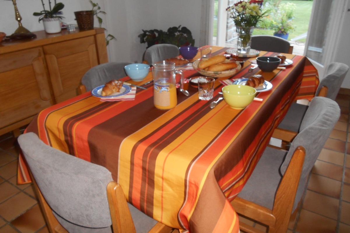 Salle à manger - Chambre d'hôte - Plourivo