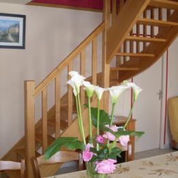 terrasse et jardin clos devant la maison - Location de vacances - Pléguien