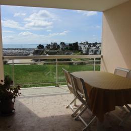 Location - Saint-Quay-Portrieux - Terrasse/Loggia - Vue Mer - Location de vacances - Saint-Quay-Portrieux
