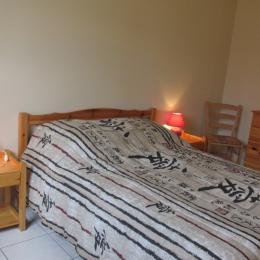 Chambre 1, double au RDC - Location de vacances - Saint-Cast-le-Guildo
