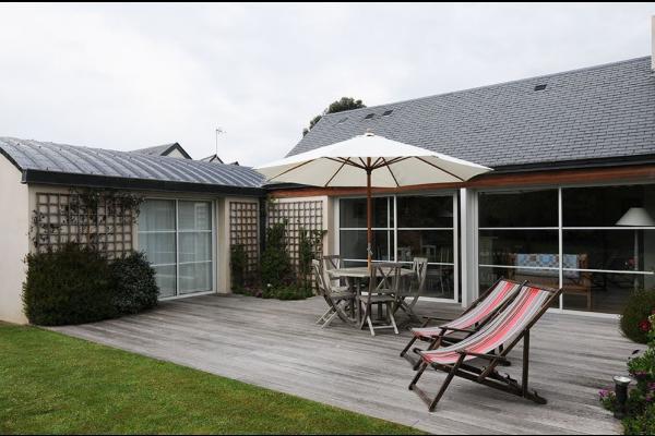 Terrasse plein Sud (40 m²) - Location de vacances - Paimpol