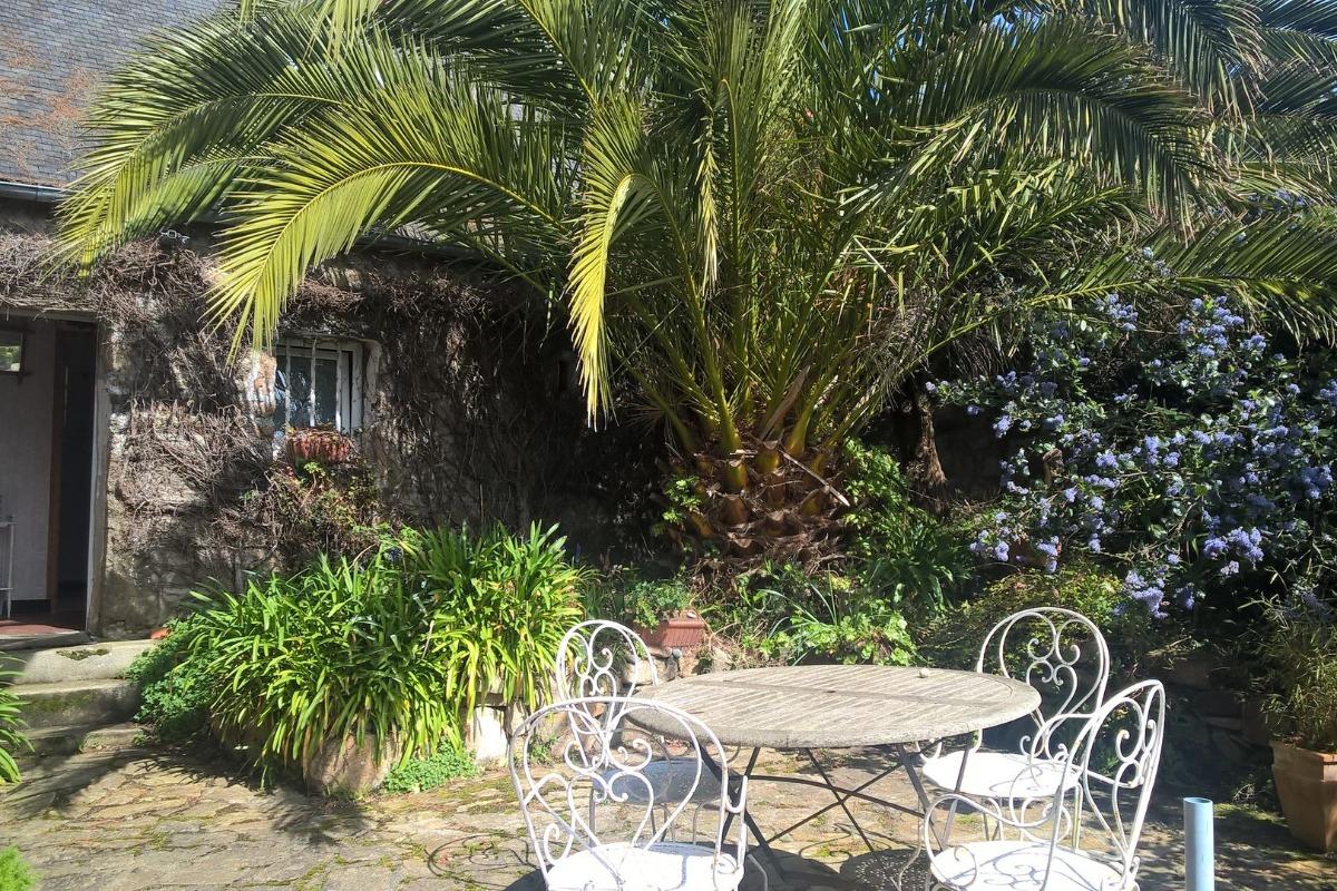 Terrasse  - Location de vacances - Plougrescant