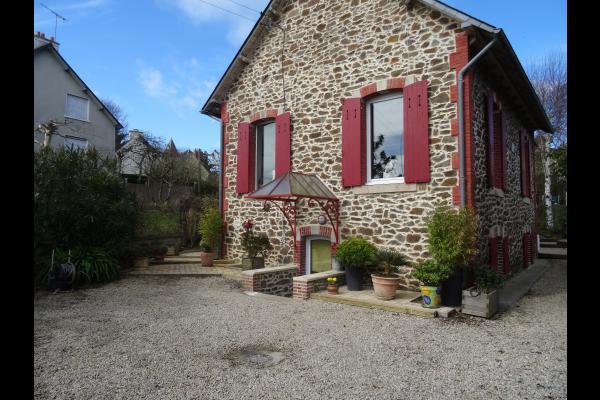 Cour d'entrée maison - Location de vacances - Saint-Quay-Portrieux