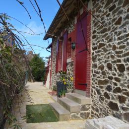 Entrée de la maison - Location de vacances - Saint-Quay-Portrieux