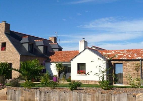 propriété côté jardin  - Location de vacances - Trégastel