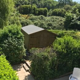 jardin vue de la chambre - Location de vacances - Étables-sur-Mer