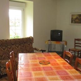 Espace salle à manger - salon au RDC - Location de vacances - Paimpol
