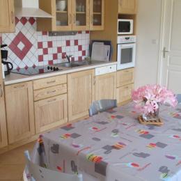 Location Pencolé Lanmodez cuisine séjour - Location de vacances - Lanmodez