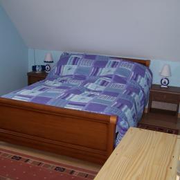 Chambre des parents - Location de vacances - Trégastel