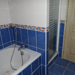 Baignoire et douche - Location de vacances - Trégastel