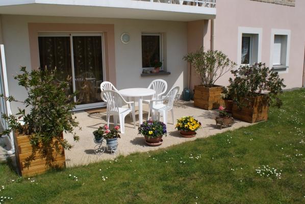façade sur terrasse - Location de vacances - Trébeurden