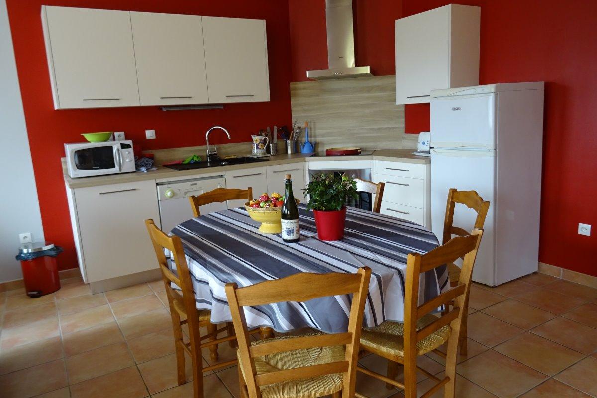 Gîte 6 pers cuisine - Location de vacances - Paimpol