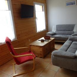Gîte 6 pers salon - Location de vacances - Paimpol