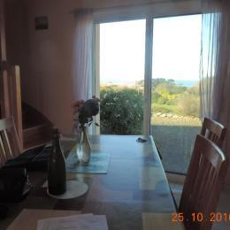 salle à manger salon - Location de vacances - Plougrescant