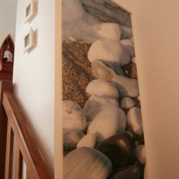 accès à l'étage inférieur, ambiance marine - Location de vacances - Trévou-Tréguignec