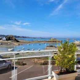 Location, Loguivy-de-la-mer, la terrasse de la location vue mer - Location de vacances - Ploubazlanec