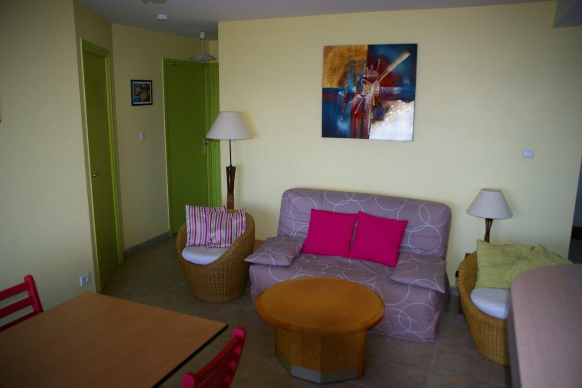 salon - Location de vacances - Binic