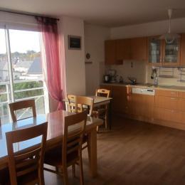 Salle à manger - Cuisine - Location de vacances - Pléneuf-Val-André