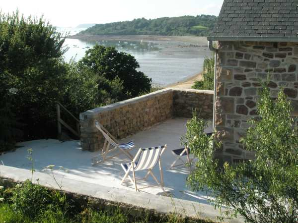 la terrasse - Location de vacances - Ploubazlanec