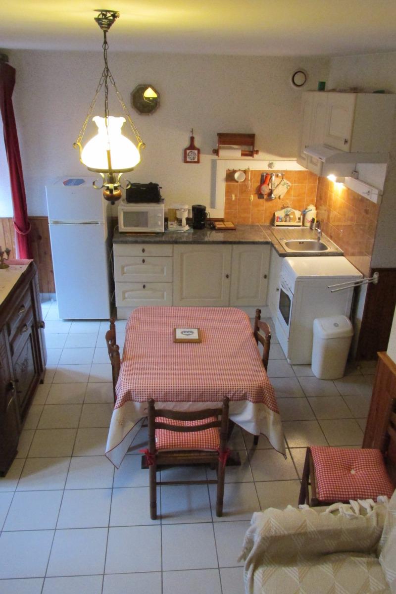 Le salon séjour - Location de vacances - Sévignac