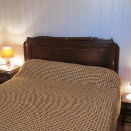Chambre rdc lit 140 - Location de vacances - Sévignac