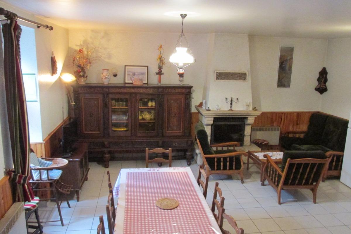 Le salon-Séjour - Location de vacances - Sévignac