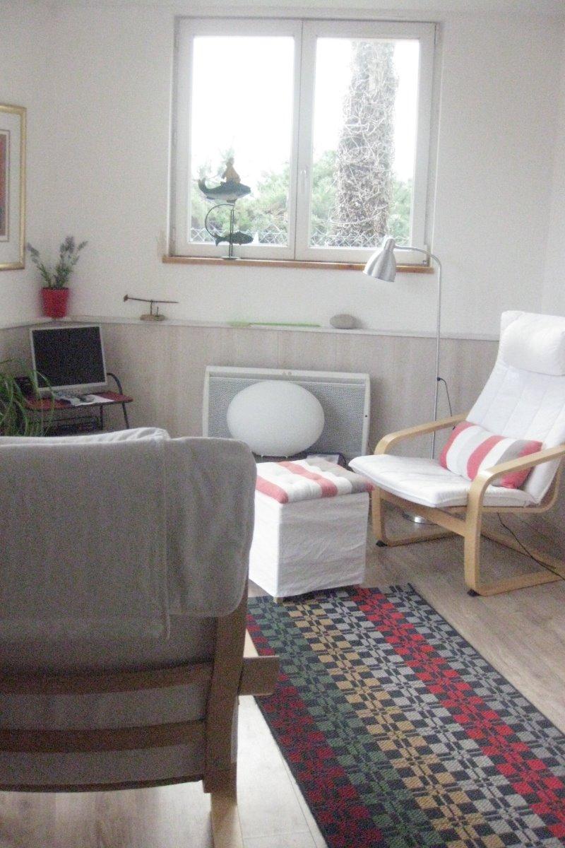 Salle de sejour/ living room - Chambre d'hôtes - Ploubazlanec