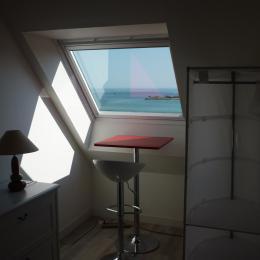 Vue mer depuis chambre étage - Location de vacances - Trévou-Tréguignec