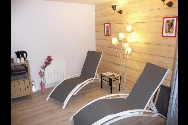 salle détente - Location de vacances - Erquy