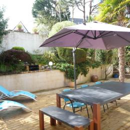 terrasse 60m2 - Location de vacances - Erquy