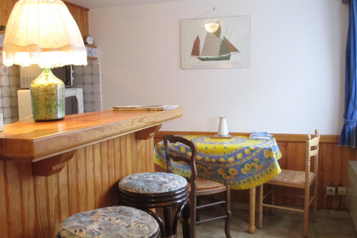 petit salon à l'étage - Location de vacances - Ploubazlanec