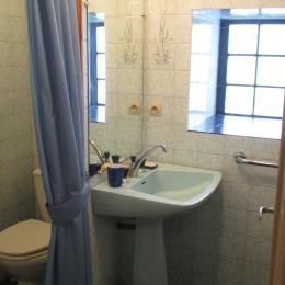 Espace cuisine et table à manger au RDC - Location de vacances - Ploubazlanec