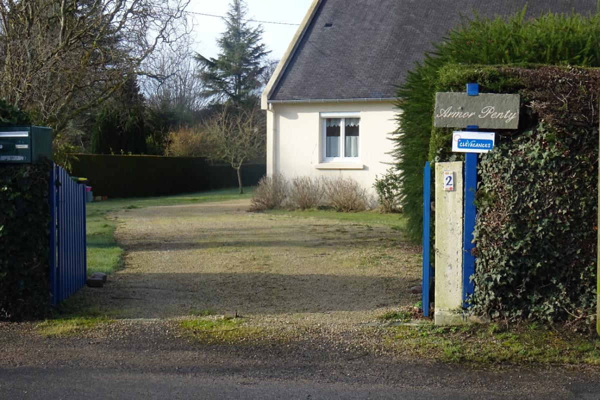 Accès d'Armor Penty - Location de vacances - Saint-Quay-Portrieux