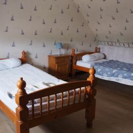 chambre étage - Location de vacances - Plestin-les-Grèves