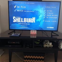 salle de douche au RDC - Location de vacances - Lannebert