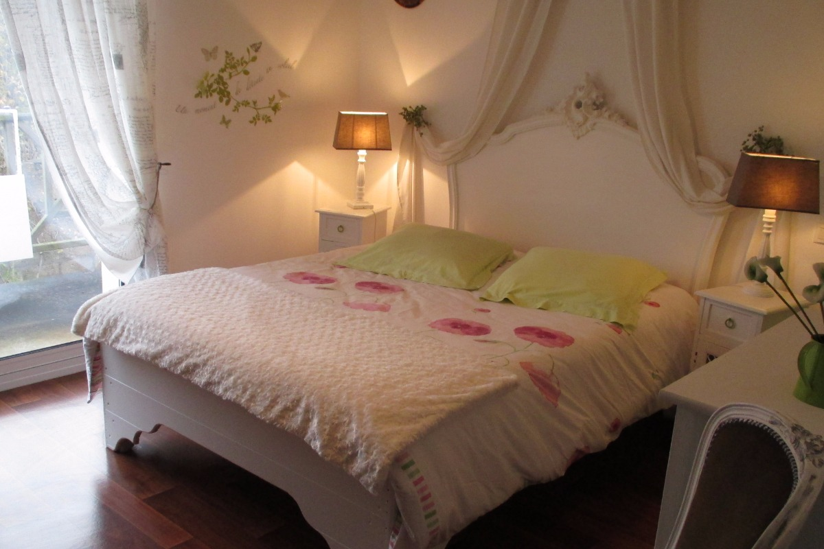 Villa des Hortensias, Chambre Arum - Chambre d'hôtes - Paimpol