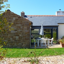 Pennty côté jardin  - Location de vacances - Trégastel