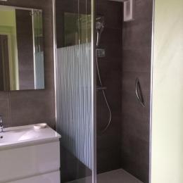 La salle de douche - Location de vacances - Erquy