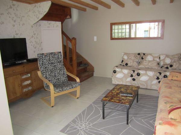 SALON AVEC CLIC CLAC - Location de vacances - Binic
