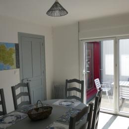 Cuisine Terrasse  - Chambre d'hôtes - Paimpol