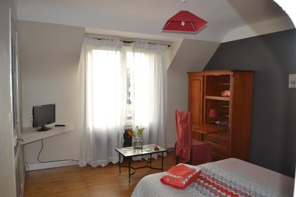 Chambre rubis  - Chambre d'hôte - Paimpol
