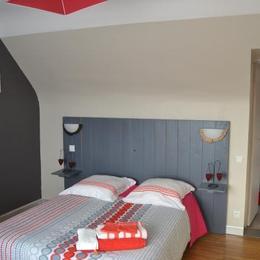 Chambre Rubis  - Chambre d'hôtes - Paimpol