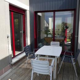 Terrasse exposition ouest - Chambre d'hôtes - Paimpol